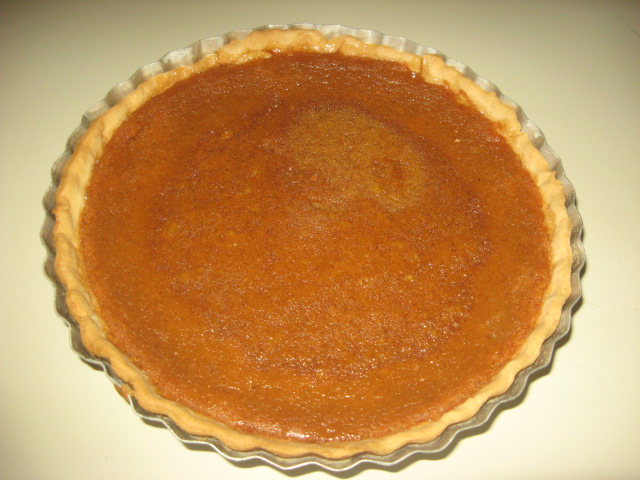 The Best Ever Pumpkin Pie