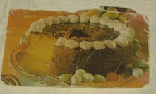 Original Bacardi Rum Cake Recipe Card