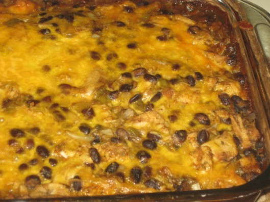 Similar to a enchilada casserole