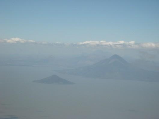 Flying into NIcaragua