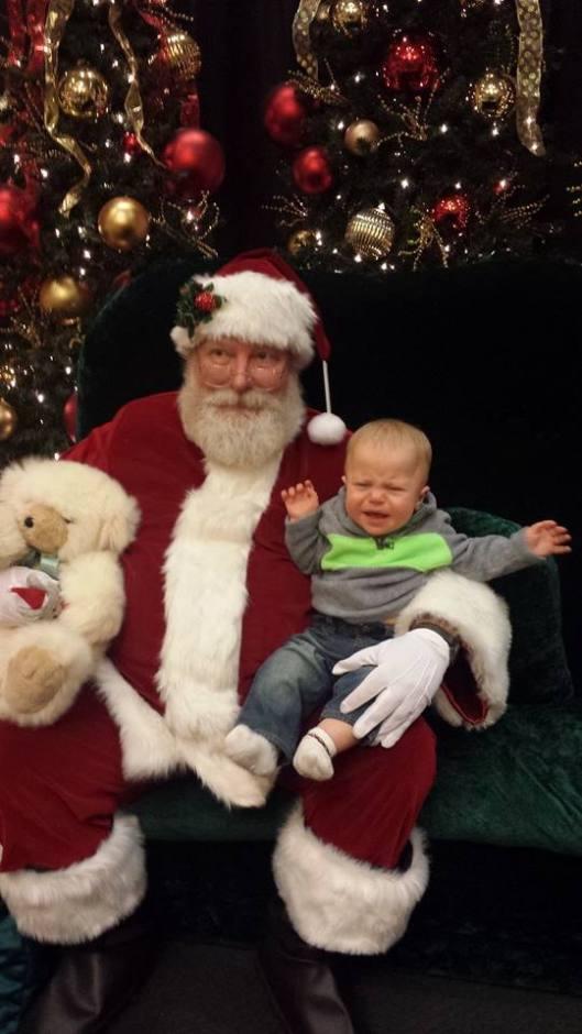evan and santa 2013