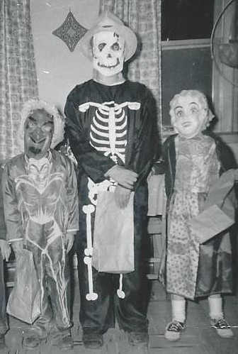 Halloween on the Farm about 1959