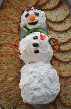 Snowman Cheese